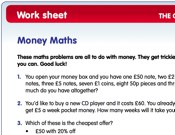 maths key stage 2 money. Black Bedroom Furniture Sets. Home Design Ideas