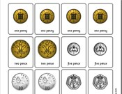 ... Printable true to life pictures of coins and simple money activities
